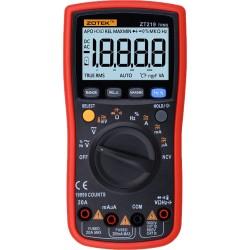 Мультиметр ZOTEK ZT-219 /True RMS, 19999 отсчетов
