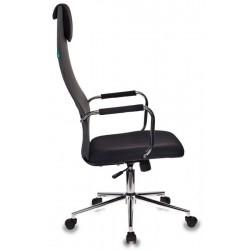 Кресло руководителя БЮРОКРАТ KB-9 (492618) сетчатая ткань/искус.кож., механ. качания, газлифт, Black