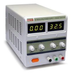 Блок питания UnionTEST UT3003Е линейный/ 0..30в, 0..3А