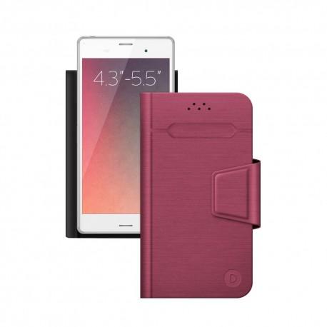 """Чехол-книжка для телефонов 4.3""""-5.5"""" Deppa Wallet Fold M красный (87008)"""