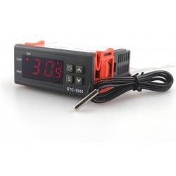Терморегулятор универсальный цифровой, 10А/250В STC-1000