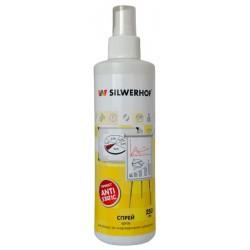 Спрей Silwerhof для экранов мониторов/плазменных/ЖК телевизоров/ноутбуков 250мл