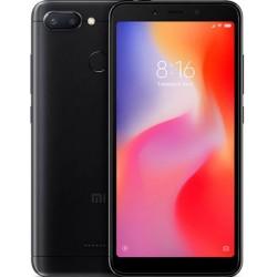 "Смартфон Xiaomi Redmi 6 3/64Gb Black 2sim/5.45""/1440*720/8*2ГГц/3Gb/64Gb/mSD/12Мп/Bt/WiFi/GPS"