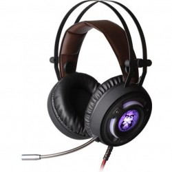 Игровая гарнитура Qumo Avalon GHS 006 полноразмерные, кабель 1.5м, Black