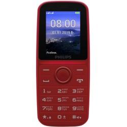 "Сотовый телефон Philips E109 Red (2sim/1.77""/128*160/microSD/1000мАч)"