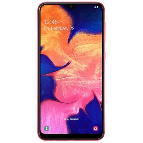 """Смартфон Samsung GalaxyA10 32GB SM-A105F Red 2sim/6.2""""/1520*720/8х1.6ГГц/2Gb/32Gb/mSD/13Мп/Bt"""