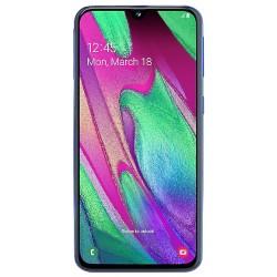 """Смартфон Samsung GalaxyA40 64GB SM-A405F Blue 2sim/5.9""""/2340*1080/8х1.8ГГц/4Gb/64Gb/mSD/16Мп/Bt"""