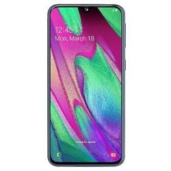 """Смартфон Samsung GalaxyA40 64GB SM-A405F Black 2sim/5.9""""/2340*1080/8х1.8ГГц/4Gb/64Gb/mSD/16Мп/Bt"""
