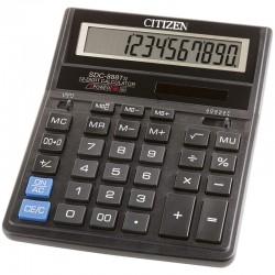 Калькулятор CITIZEN SDC-888TII 12 разряд, черный