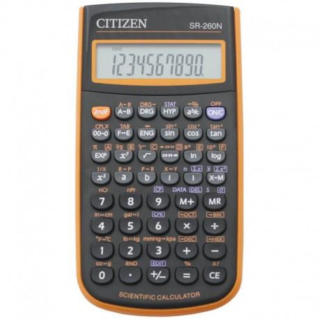 Калькулятор CITIZEN д/научных расчётов 10+2 разряд SR-260NOR