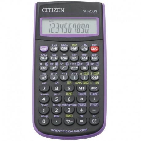 Калькулятор CITIZEN д/научных расчётов 10+2 разряд SR-260NPU
