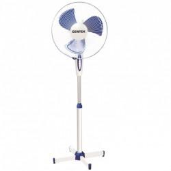 Вентилятор напольный 2 шт/кор Centek CT-5004 Blue диам. лоп. 43см., 45Вт, 3 скорости (2шт/уп.)
