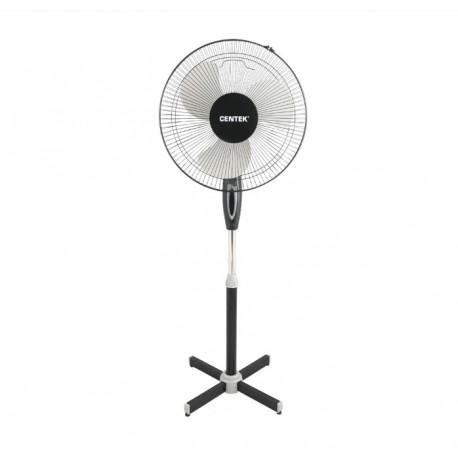 Вентилятор напольный Centek CT-5015 Black диам. лоп. 43см., 45Вт, 3 скорости