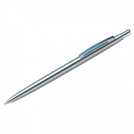 """Ручка шариковая BERLINGO """"Golden Prestige"""" 0,7мм., синяя, корпус хром (CPs 73135)"""