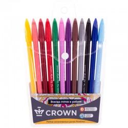 """Набор ручек капиллярных 12шт. Crown """"MultiPla"""" 0,3мм. MP-5000SET"""