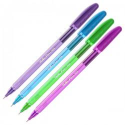 """Ручка шариковая Hatber """"Holi Colors"""" 0,7мм., синяя 7CB 50192"""