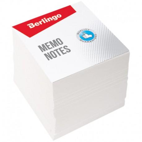 Блок для записей BERLINGO 9*9*9см. белый (ZP7600)