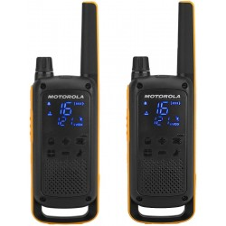 Радиостанция Motorola TLKR T82 EXTREME PMR, 446-446.1МГц, 10км, 8 каналов, Акб Ni-MH, CTSS, DCS, 2шт
