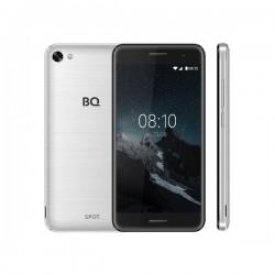 """Смартфон BQ BQ-5010G Spot серебряный шлифованный 2sim/5""""/1280*720/4*1.3ГГц/1Gb/8Gb/mSD/8Мп/Bt/WiFi/GPS/And8.1"""