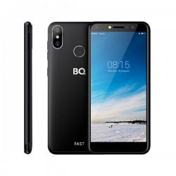 "Смартфон BQ BQ-5515L Fast Black 2sim/5.5""/960*540/4*1.5ГГц/2Gb/16Gb/mSD/8Мп/Bt/WiFi/GPS/2500mAh"