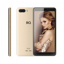 """Смартфон BQ BQ-5520L Silk Gold 2sim/5.45""""/1440*720/4*1.5ГГц/1Gb/8Gb/mSD/8Мп/Bt/WiFi/GPS/2500mAh"""