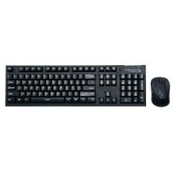 Комплект (клавиатура+мышь) Zalman ZM-KM870RF радиус действия 10м,Black беспроводной
