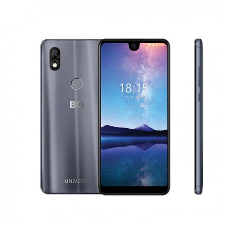 """Смартфон BQ BQ-6015L Universe Gray 2sim/6""""/1520*720/MSM8940/3Gb/32Gb/mSD/13Мп/Bt/WiFi/GPS/3000mAh"""