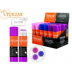 Клей-карандаш TUKZAR 15гр. хамелеон TZ 7150