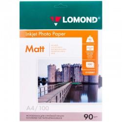 Бумага Lomond  90г/м2, A4, матовая, 100л. (0102001)