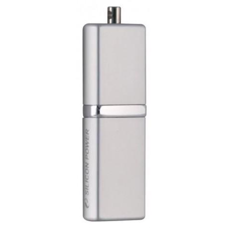 Флешка Silicon Power LuxMini 710 Серебро 16Gb (USB2.0,SP016GBUF2710V1S)