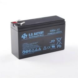 Аккумулятор BB Battery HR 6-12 (12V,6Ah)