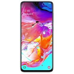 """Смартфон Samsung GalaxyA70 128Gb SM-A705F White 2sim/6.7""""/1080*2400/8х2ГГц/6Gb/128Gb/mSD/32+5+8Мп/Bt/And9.0/4500mAh"""