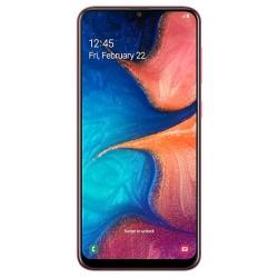 """Смартфон Samsung GalaxyA20 32GB SM-A205F Red 2sim/6.4""""/1560*720/8х1.6ГГц/3Gb/32Gb/mSD/16Мп/Bt"""