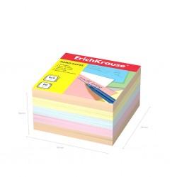 Блок для записей Erich Krause 9*9*5см. цветной (5139)