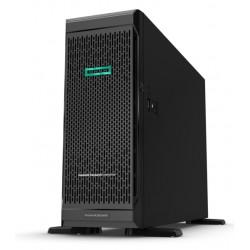 ProLiant ML350 Gen10 Silver 4214 Tower(4U)/Xeon12C 2.2GHz(17MB)/1x32GbR2D_2933/P408i-aFBWC(2Gb/RAID 0/1/10/5/50/6/60)/noHDD(8/24up)SFF/noDVD/iLOstd/6NHPFans/4x1GbEth/1x800W(2up)