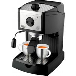 Кофеваркa Delonghi EC 156 B Black 1100Вт,1л,15 бар,рожковая,тип кофе: молотый/чалды