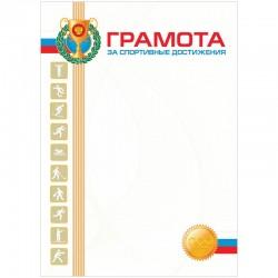 Грамота А4, Спейс, спортивная, мел. картон (BGS 6519)