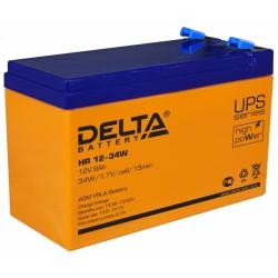 Аккумулятор Delta HR12-34W (12V,9A)