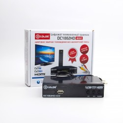 Приемник цифрового ТВ D-COLOR DC1002HDmini