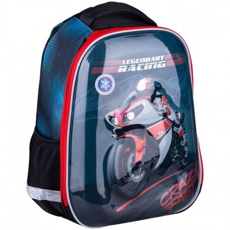 """Ранец Berlingo Expert Pro """"Moto passion"""" 37*29,5*16см, 2 отделения, 2 кармана, RU045610"""