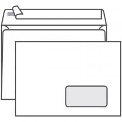 Конверт С5 РяжскГознак без подсказа, с правым окном, 162*229 отрывная лента (ш/к-70857)