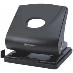 """Дырокол BERLINGO """"Office Soft"""" на 30л. черный (DDp 30161)"""