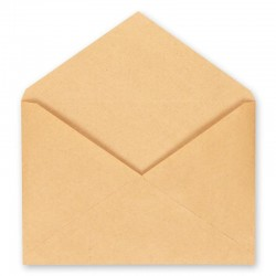 Конверт С5 крафт-бумага, треуг. клапан, 162*229 клеевой край (ш/к-70369) (Арт.76423)