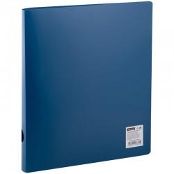 Папка 2 кольца Спейс 40мм. 500мкм. синяя (ПН2К 20339)