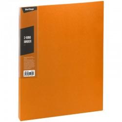 "Папка 2 кольца BERLINGO ""Color Zone"", 35мм, 600мкм, оранжевая (ABp 23616)"