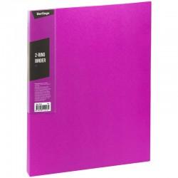 "Папка 2 кольца BERLINGO ""Color Zone"", 35мм, 600мкм, розовая (ABp 23613)"