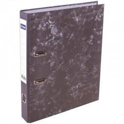 Папка-регистратор 50мм. Спейс мрамор, разборная, черная (AFmR50 4452 / 207705)