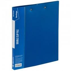 "Папка с 2мя прижимами BERLINGO ""Standard"" 17мм. 700мкр, синяя (ACp 02002)"