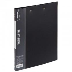 """Папка с 2мя прижимами BERLINGO """"Standard"""" 17мм. 700мкр, черная (ACp 02001)"""