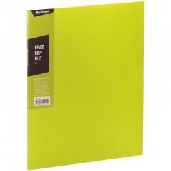 "Папка с боковым прижимом BERLINGO ""Color Zone"", 17мм, 600мкм, салатовая (ACp 01619)"